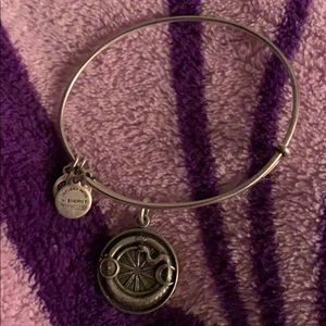 Alex and Ani ouroboros bangle bracelet